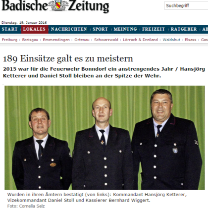 Bonndorf 189 Einsätze galt es zu meistern - badische-zeitung.de