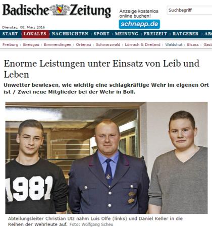 Bonndorf Enorme Leistungen unter Einsatz von Leib und Leben - badische-zeitung.de