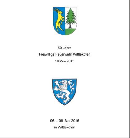 WG Festschrift 50 Jahre FFW Wittlekofen - brunner.christine76@googlemail.com - Gmail
