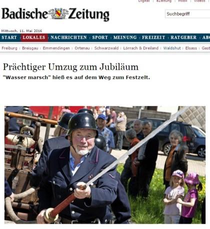 Bonndorf Prächtiger Umzug zum Jubiläum - badische-zeitung.de